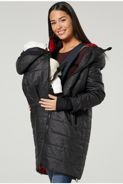 Maternity Jacket -Padded Baby Carrier