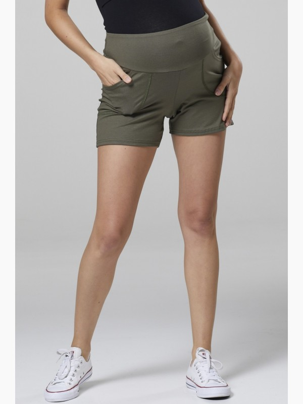 Maternity Shorts Jersey Pants
