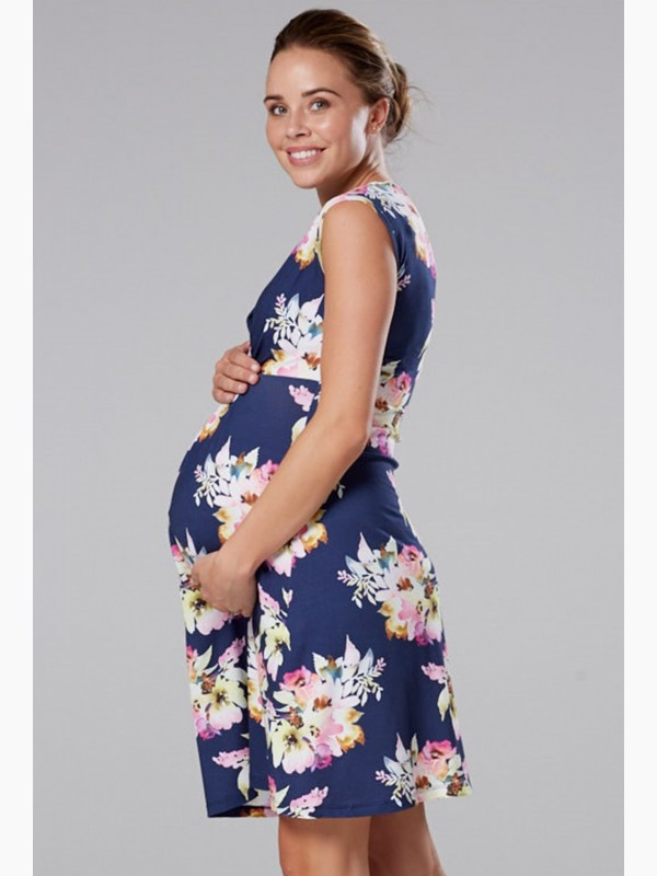 Maternity Nursing A-line Dress