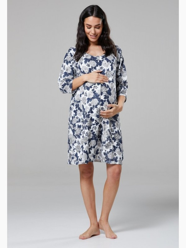 Maternity Skin To Skin Labor Gown